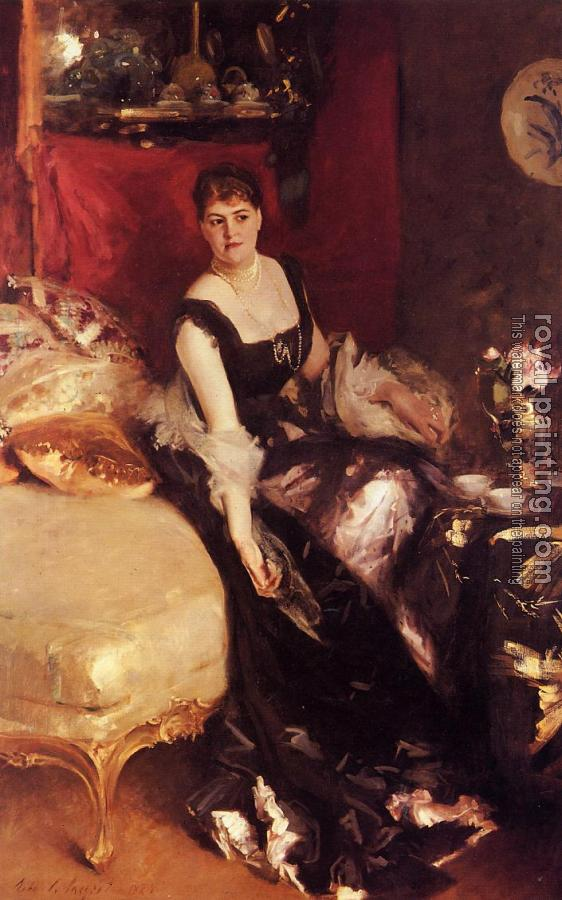 John Singer Sargent : Mrs. Kate A More