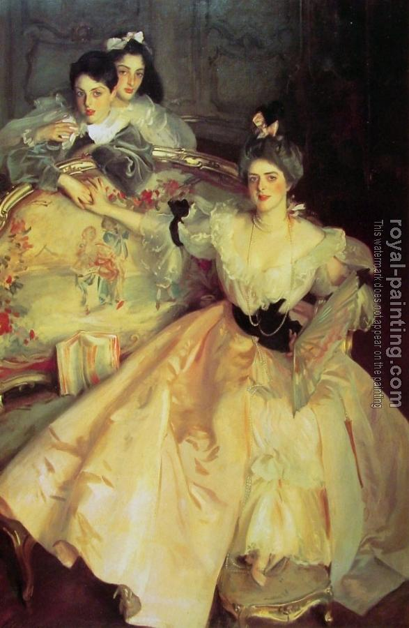 John Singer Sargent : Mrs Carl Meyer and her Children