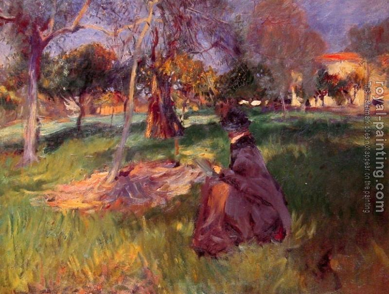 John Singer Sargent : In the Orchard