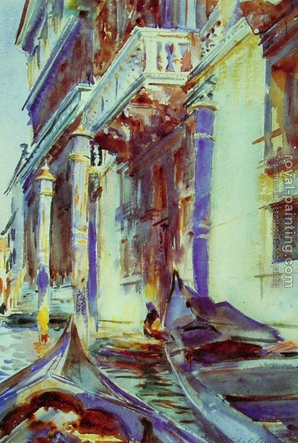John Singer Sargent : On the Grand Canal