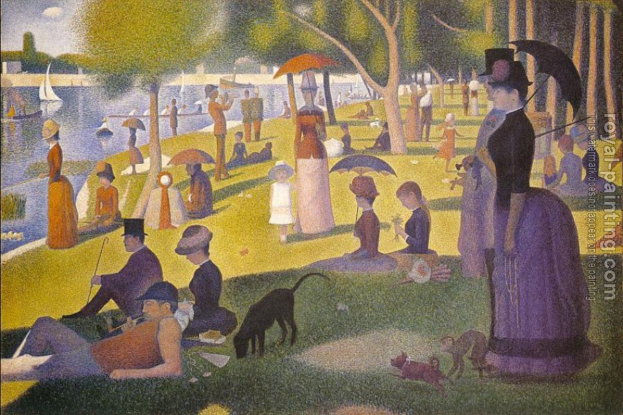 Georges Seurat : Sunday Afternoon on the Island of la Grande Jatte