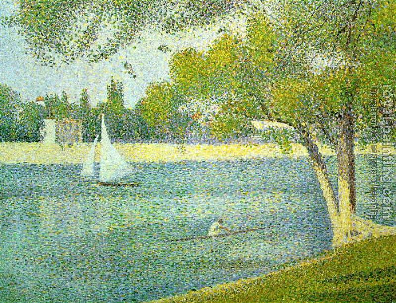 Georges Seurat : The Siene at la Grande Jatte