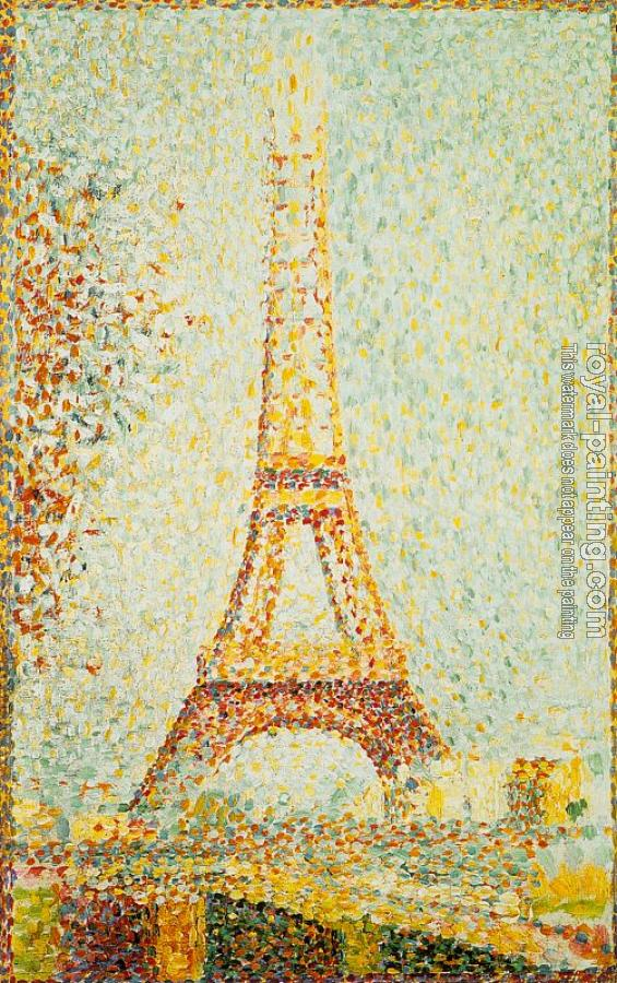 Georges Seurat : The Eiffel Tower