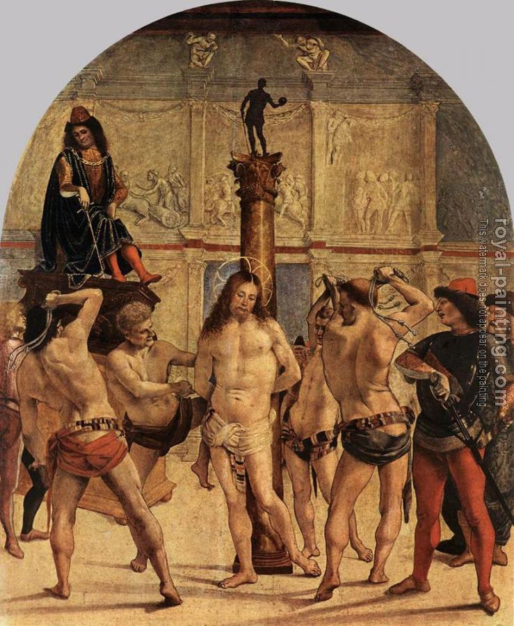 Luca Signorelli : The Scourging of Christ