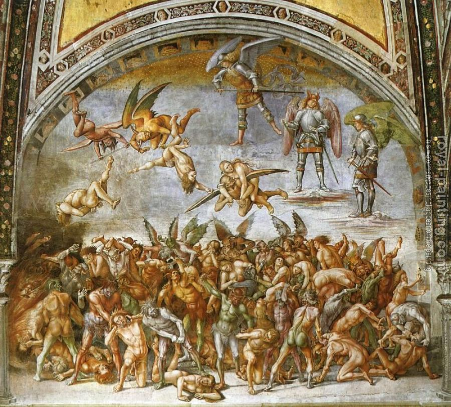 Luca Signorelli : The Damned