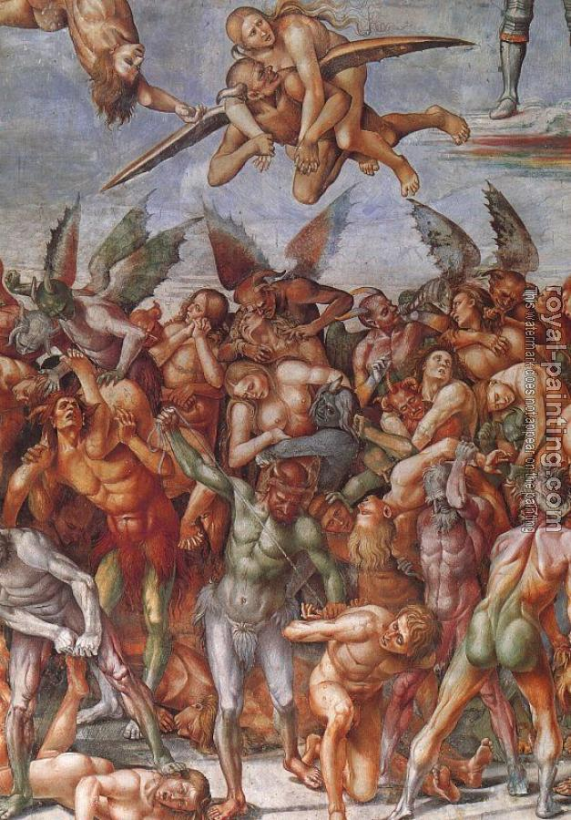Luca Signorelli : The Damned III