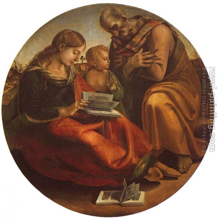 Luca Signorelli : Holy Family