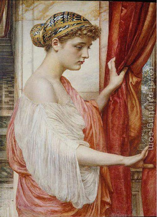 Sir Edward John Poynter : At the Window