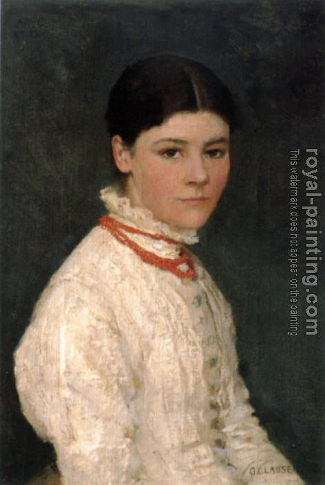 Sir George Clausen : Agnes Mary Webster