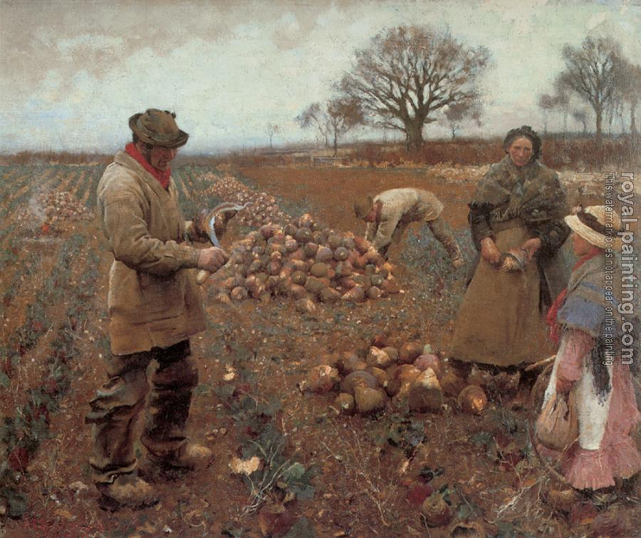 Sir George Clausen : Winter Work