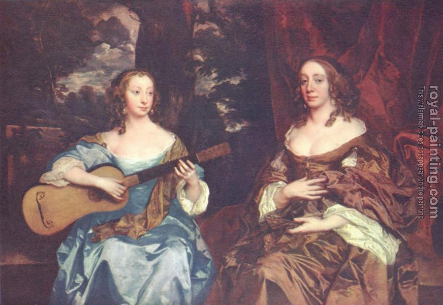 Sir Peter Lely : Two ladies from the Lake family