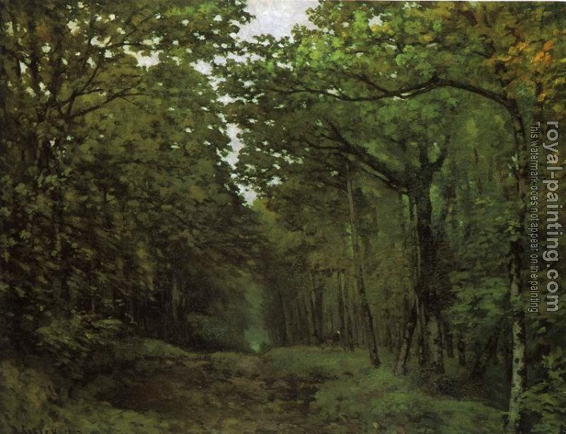 Alfred Sisley : Avenue of Chestnut Trees
