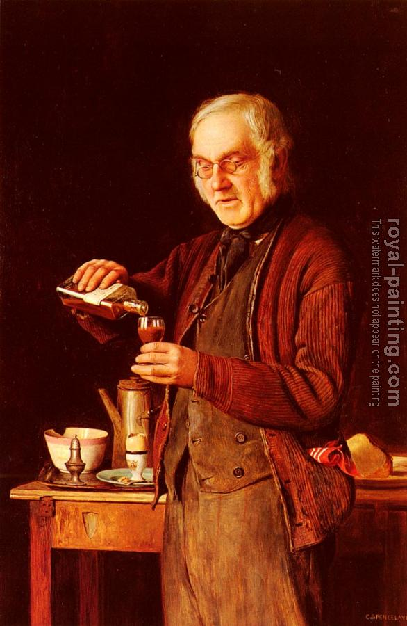 Charles Spencelayh : A Good Tonic