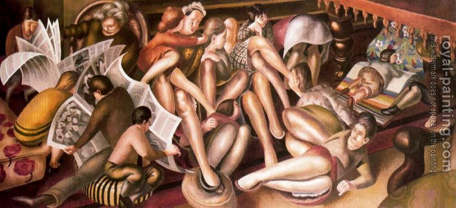 Stanley Spencer : Bridesmaids at Cana