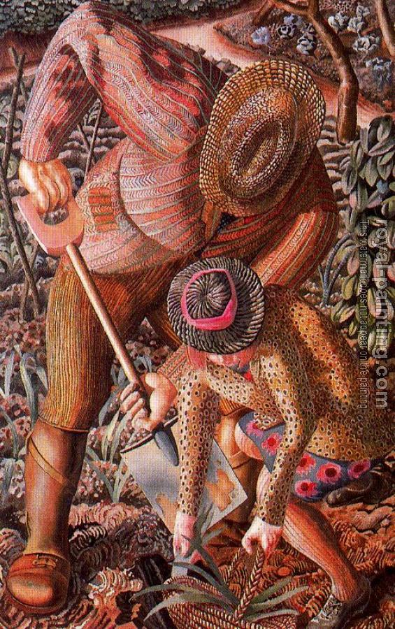 Stanley Spencer : Gardening