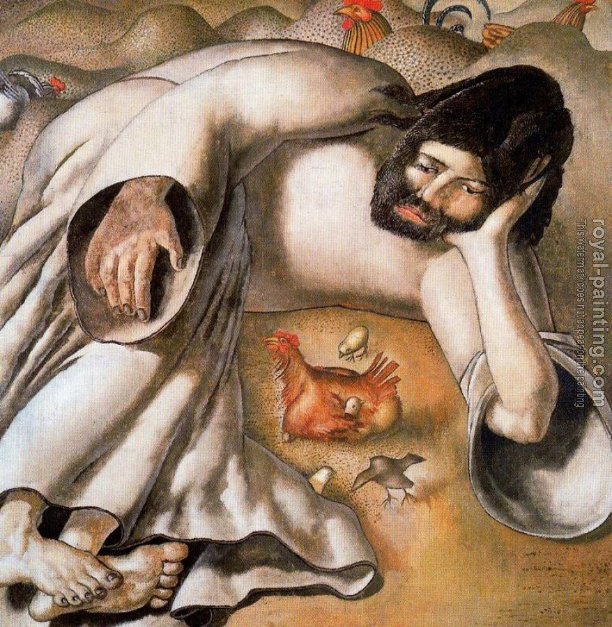 Stanley Spencer : Christ in the Wilderness, The Hen