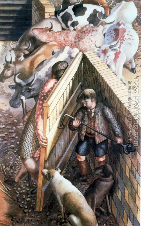 Stanley Spencer : The Farm Gate