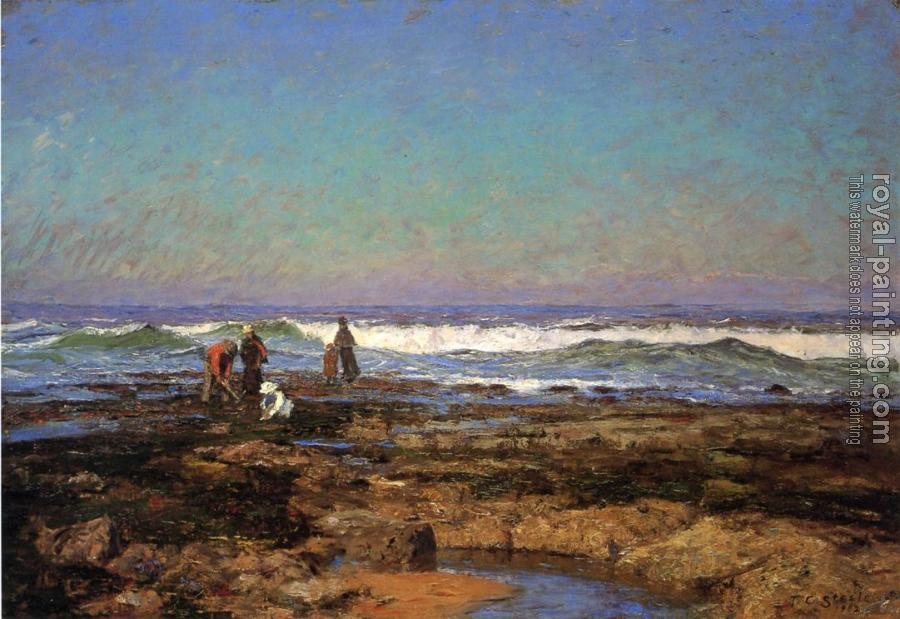 Theodore Clement Steele : Clam Diggers