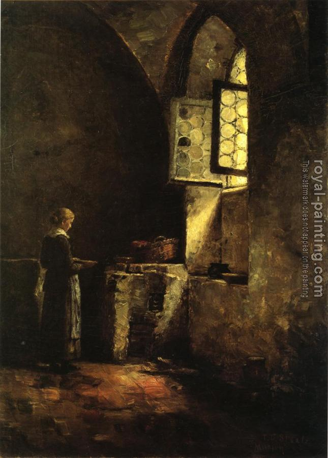 Theodore Clement Steele : A Corner in the Old Kitchen of the Mittenheim Cloister