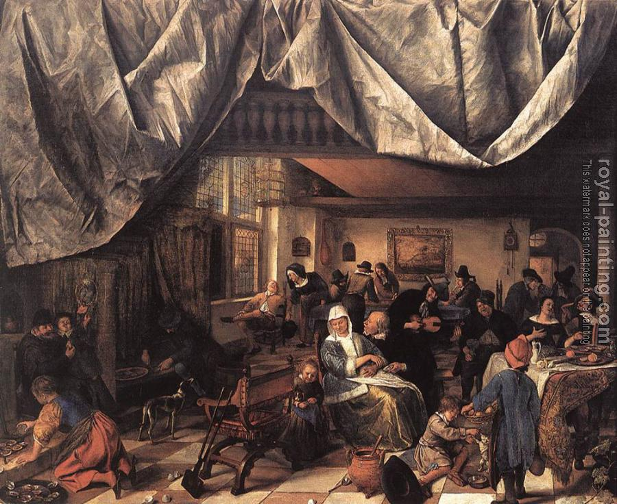 Jan Steen : The Life of Man