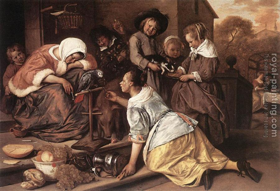 Jan Steen : The Effects of Intemperance