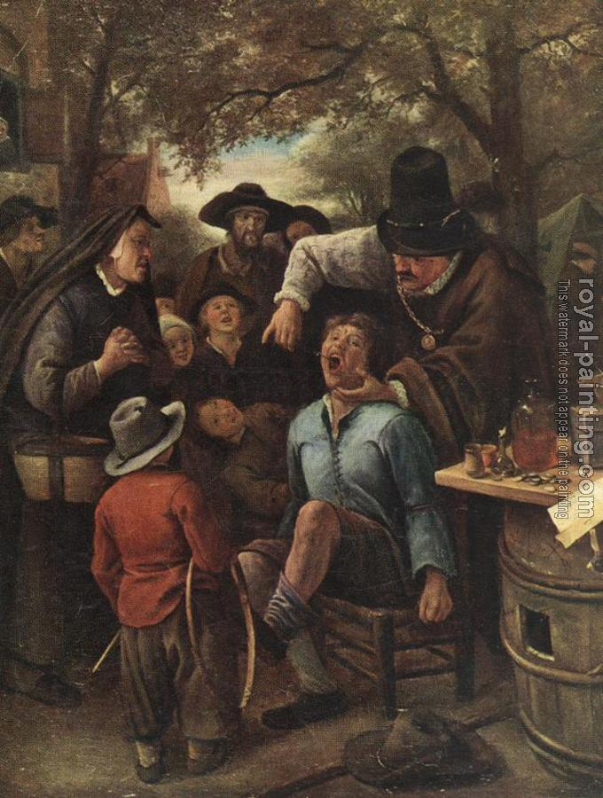 Jan Steen : The Quackdoctor
