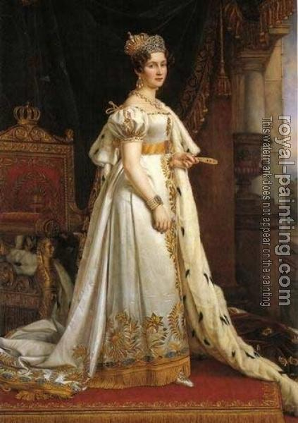Joseph Karl Stieler : Portrait of Therese, Queen of Bavaria