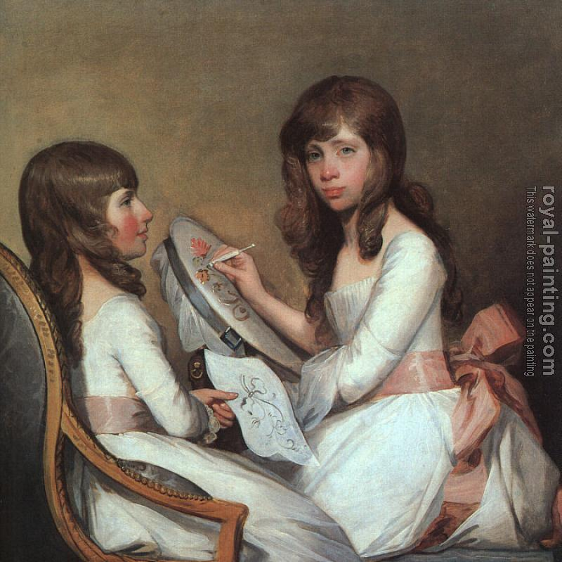 Gilbert Charles Stuart : Miss Dick and her Cousin Miss Forster
