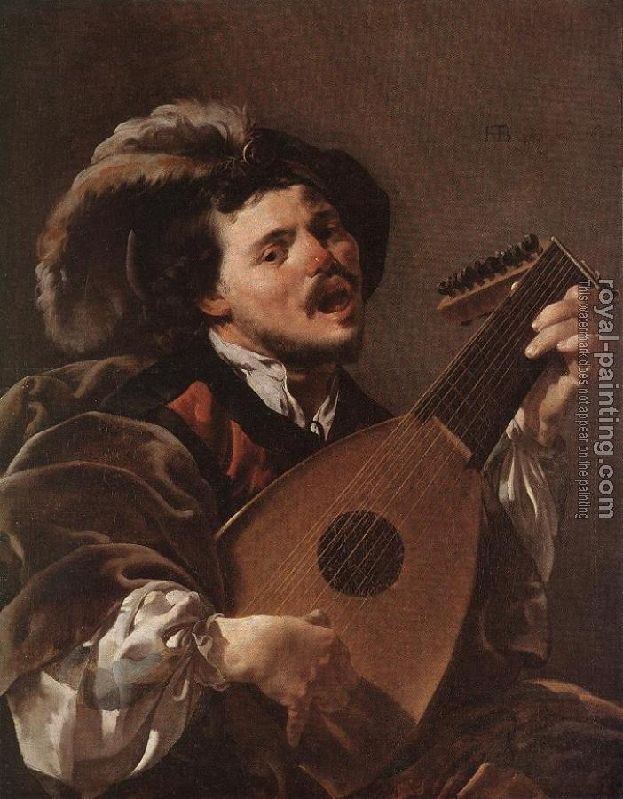 Hendrick Terbrugghen : Lute Player