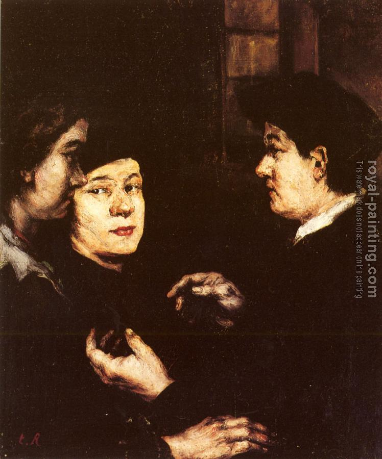 Theodule-Augustin Ribot : The Conversation