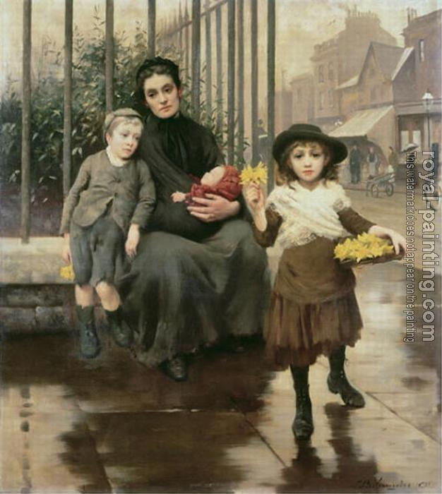 Thomas Benjamin Kennington : The Pinch of Poverty