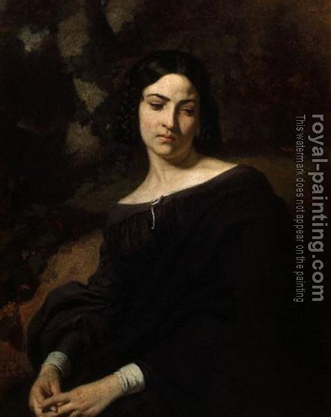 Thomas Couture : A Widow