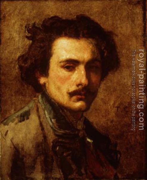 Thomas Couture : Thomas Couture, self-portrait