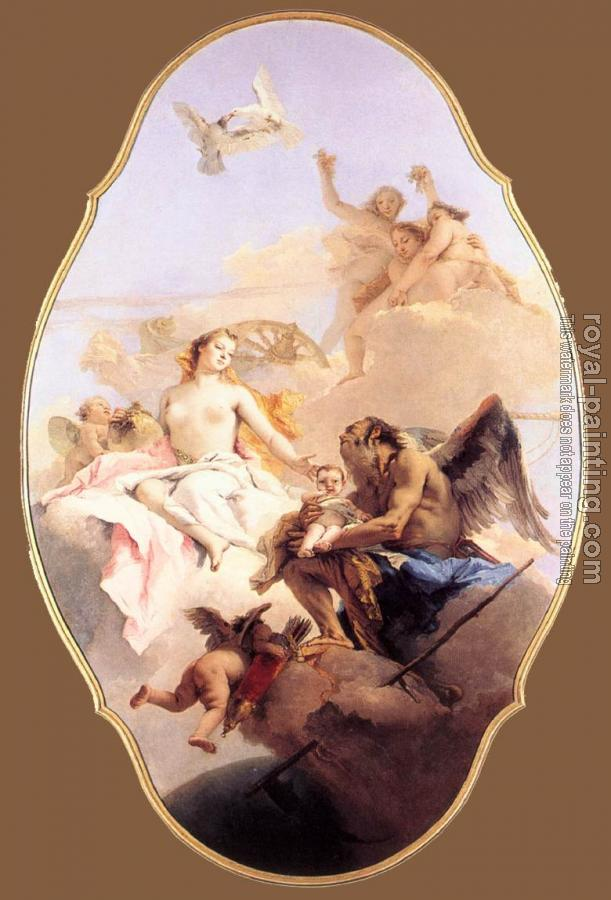 Giovanni Battista Tiepolo : An Allegory with Venus and Time