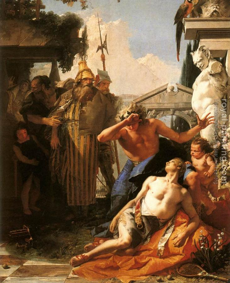 Giovanni Battista Tiepolo : The Death of Hyacinth