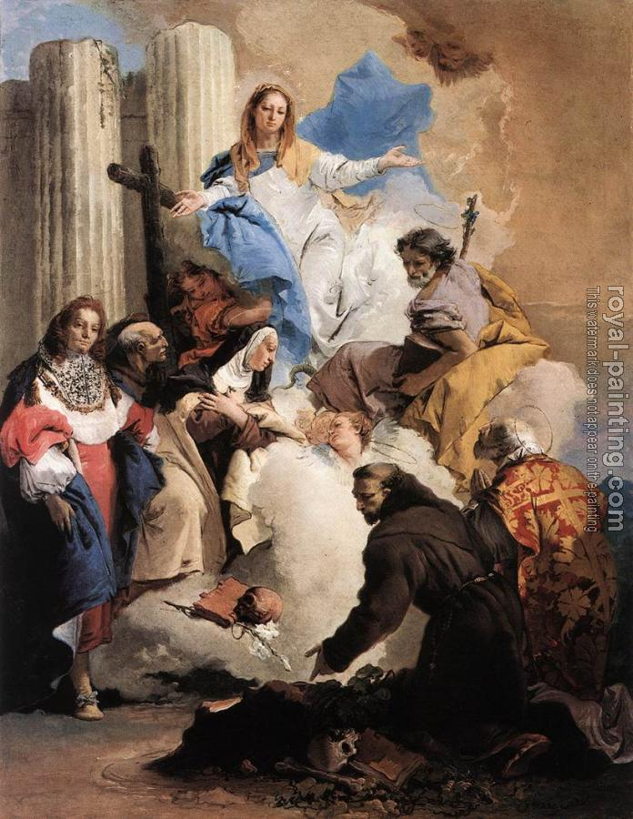 Giovanni Battista Tiepolo : The Virgin with Six Saints