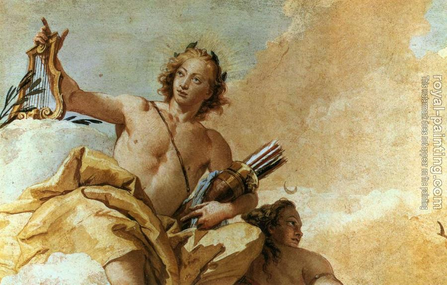 Giovanni Battista Tiepolo : Villa Valmarana Apollo and Diana