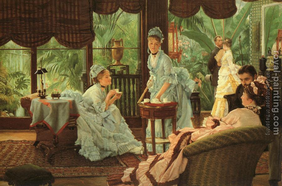 James Tissot : In the Conservatory, Rivals