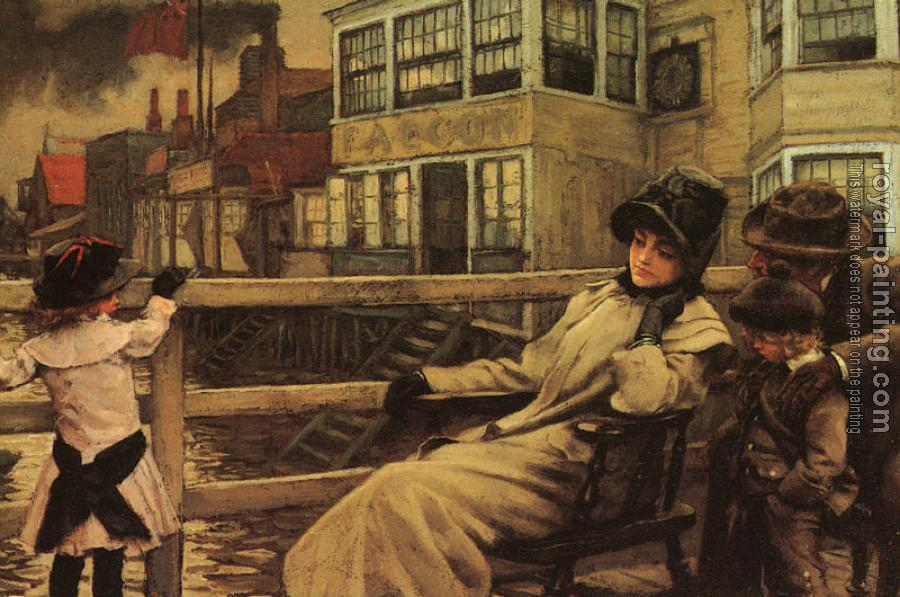 James Tissot : Waiting for the Ferry