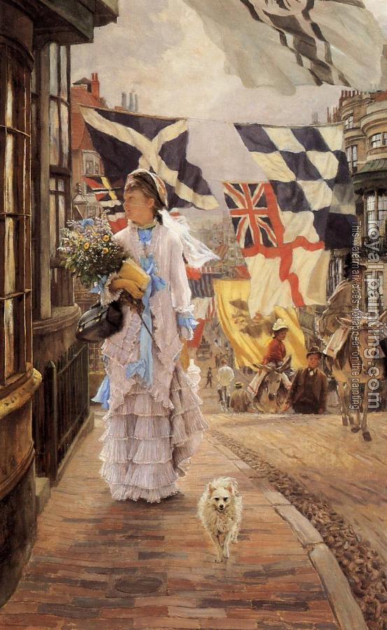 James Tissot : A Fete Day at Brighton