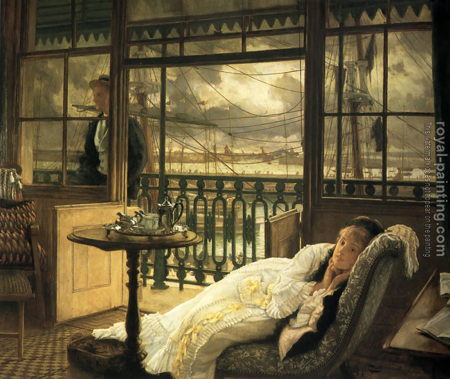 James Tissot : A Passing Storm II