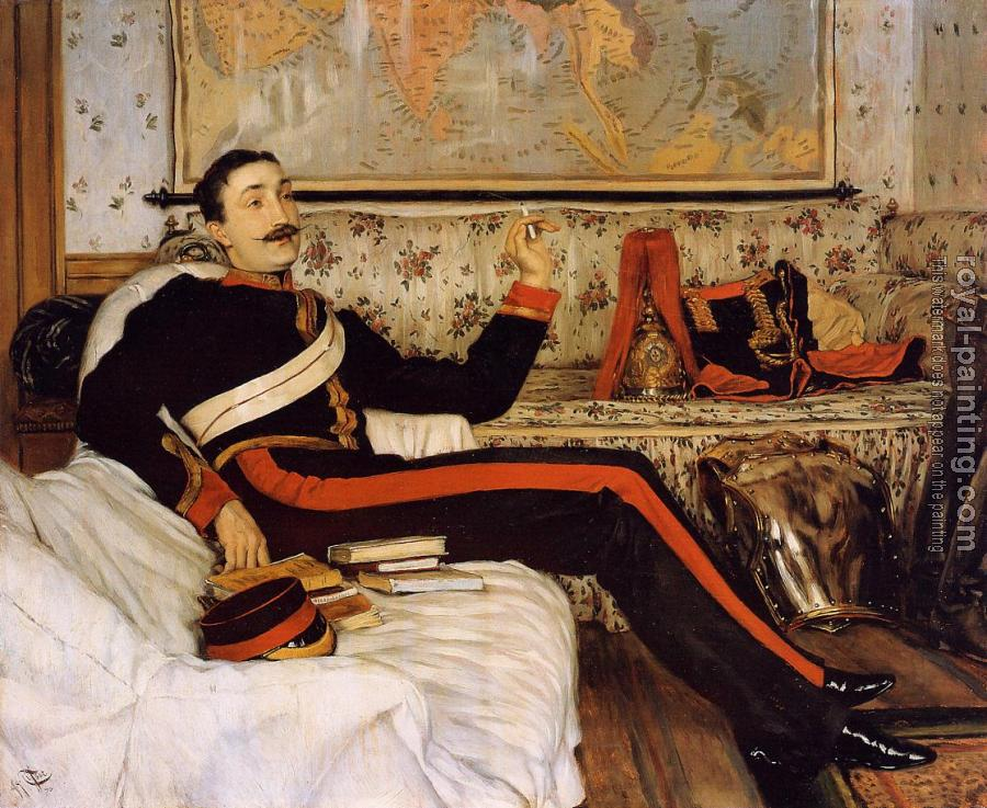James Tissot : Captain Frederick Gustavus Burnaby