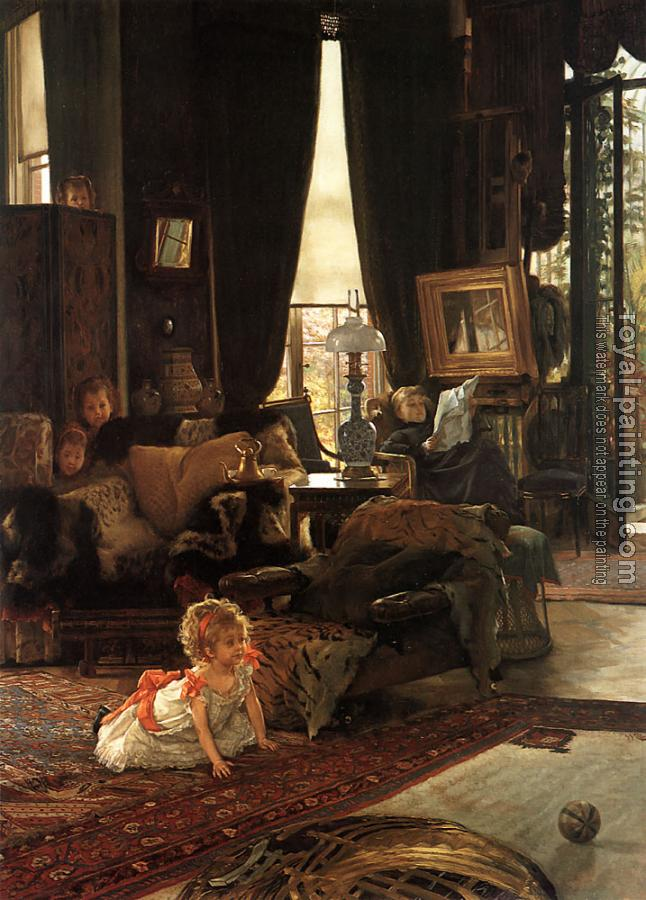 James Tissot : Hide and Seek