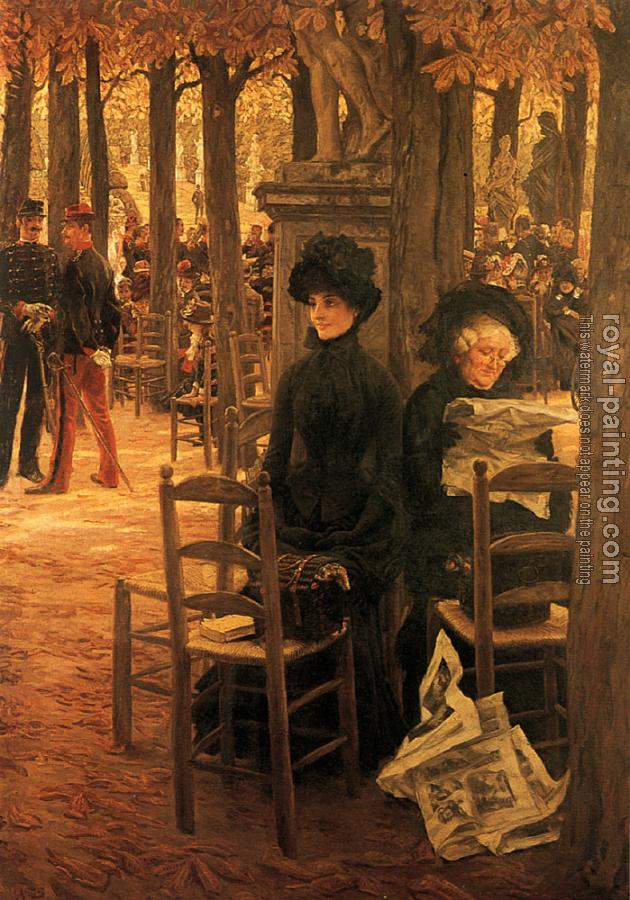 James Tissot : Letter L with Hats