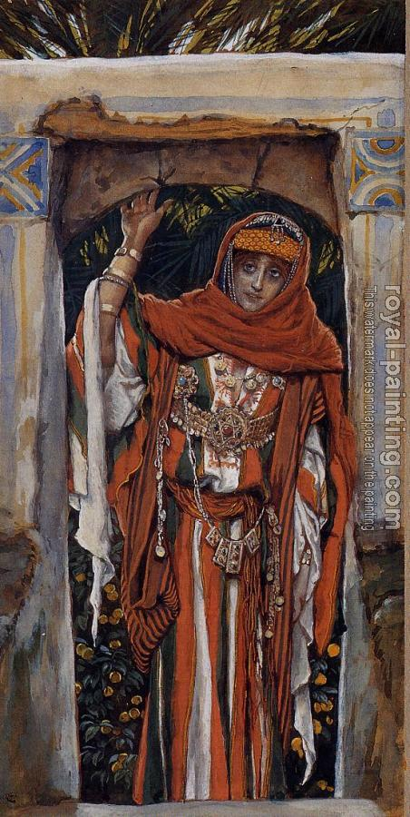 James Tissot : Mary Magdelane before Her Conversion