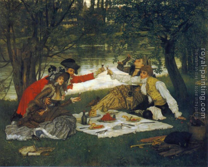 James Tissot : Partie Carree