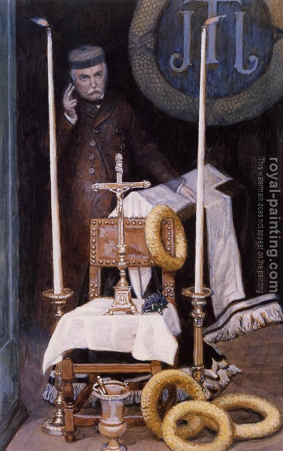 James Tissot : Portrait of the Pilgrim