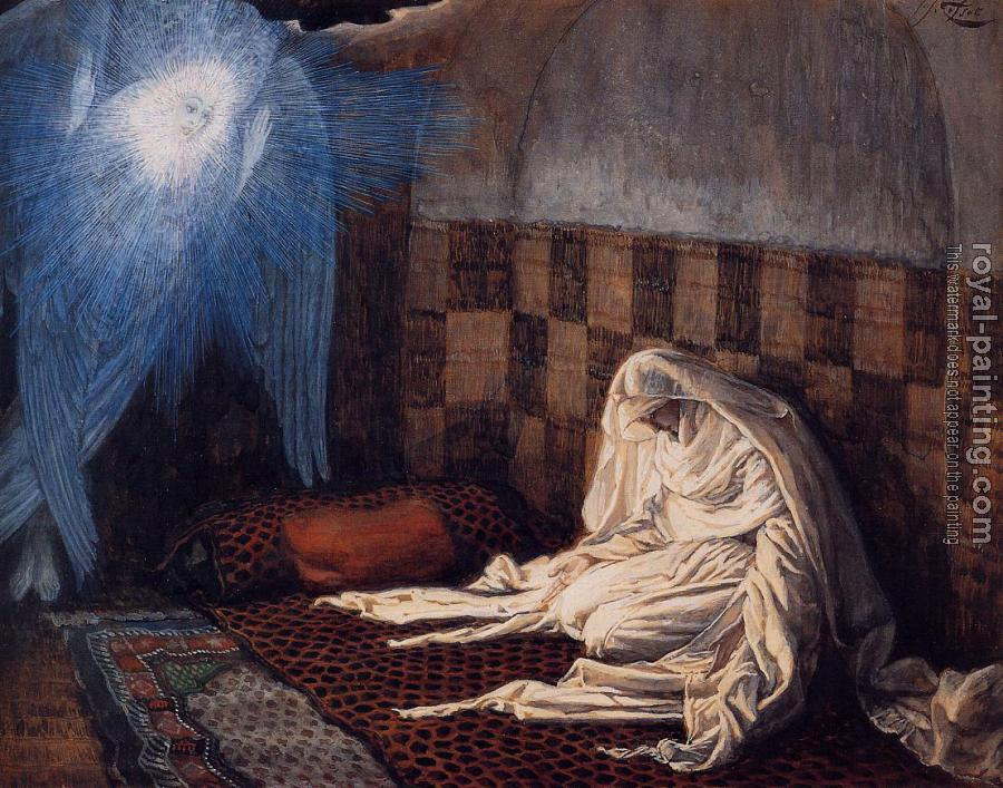James Tissot : The Annunciation II