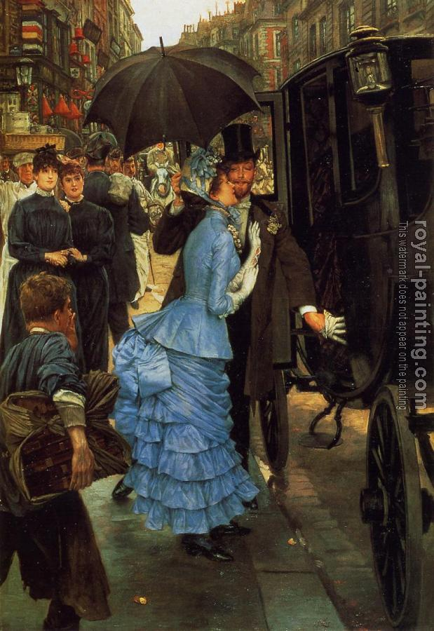 James Tissot : The Bridesmaid