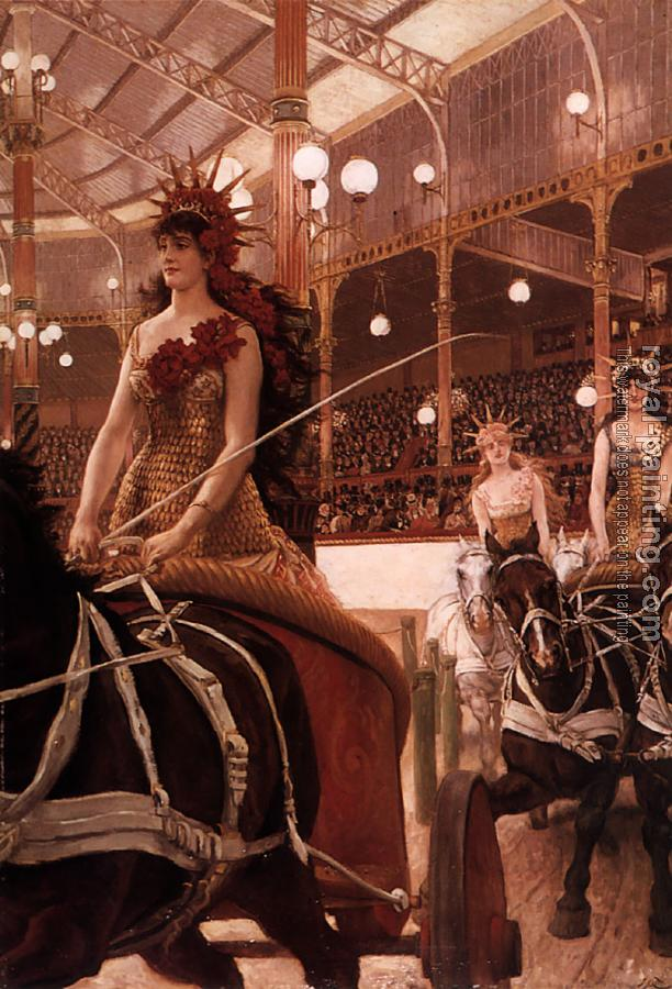 James Tissot : The Ladies of the Cars